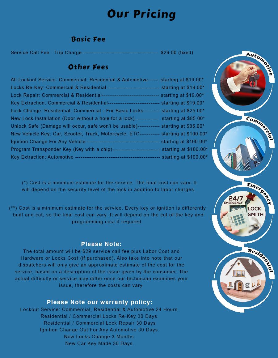 it service price list